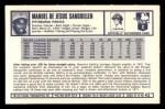 1973 Kelloggs #42  Manny Sanguillen  Back Thumbnail