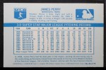 1970 Kelloggs #64  Jim Perry   Back Thumbnail