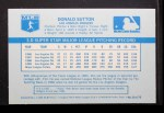 1970 Kelloggs #8  Don Sutton   Back Thumbnail