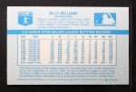 1970 Kelloggs #37  Billy Williams   Back Thumbnail