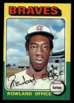 1975 Topps #262  Rowland Office  Front Thumbnail