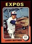 1975 Topps #543  Larry Biittner  Front Thumbnail