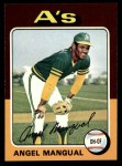 1975 Topps #452  Angel Mangual  Front Thumbnail