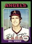 1975 Topps #40  Bill Singer  Front Thumbnail
