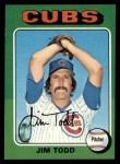 1975 Topps #519  Jim Todd  Front Thumbnail