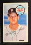 1970 Kelloggs #65  Mickey Lolich   Front Thumbnail