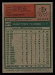 1975 Topps #573  Orlando Pena  Back Thumbnail