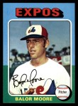 1975 Topps #592  Balor Moore  Front Thumbnail