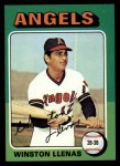 1975 Topps #597  Winston Llenas  Front Thumbnail