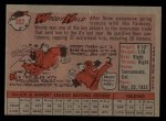 1958 Topps #202  Woodie Held  Back Thumbnail