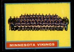1962 Topps #101   Vikings Team Front Thumbnail