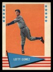 1961 Fleer #34  Lefty Gomez  Front Thumbnail