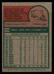 1975 Topps #414  Manny Mota  Back Thumbnail