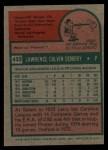 1975 Topps #433  Larry Demery  Back Thumbnail