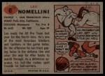 1957 Topps #6  Leo Nomellini  Back Thumbnail