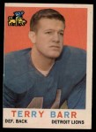 1959 Topps #14  Terry Barr  Front Thumbnail