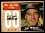 1968 Topps #367   -  Jim Fregosi All-Star Front Thumbnail
