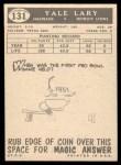 1959 Topps #131  Yale Lary  Back Thumbnail