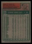 1975 Topps #564  Tommy Davis  Back Thumbnail