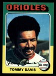 1975 Topps #564  Tommy Davis  Front Thumbnail