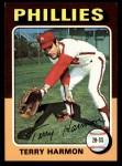1975 Topps #399  Terry Harmon  Front Thumbnail