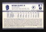1971 Kellogg's #72  Nate Colbert  Back Thumbnail