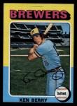 1975 Topps #432  Ken Berry  Front Thumbnail
