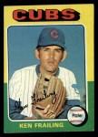 1975 Topps #436  Ken Frailing  Front Thumbnail