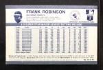 1971 Kellogg's #15  Frank Robinson  Back Thumbnail
