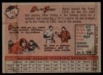 1958 Topps #169  Ralph Terry  Back Thumbnail