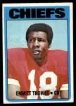 1972 Topps #157  Emmitt Thomas  Front Thumbnail