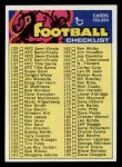 1973 Topps #224   Checklist 133-264 Front Thumbnail
