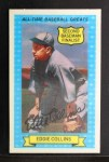 1972 Kellogg All Time Greats #10  Eddie Collins  Front Thumbnail