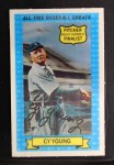 1972 Kellogg All Time Greats #12  Cy Young  Front Thumbnail
