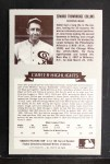 1972 Kellogg All Time Greats #10  Eddie Collins  Back Thumbnail