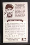 1972 Kellogg All Time Greats #7  Lefty Grove  Back Thumbnail
