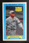 1972 Kellogg All Time Greats #3  John McGraw  Front Thumbnail