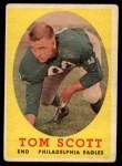 1958 Topps #125  Tom Scott  Front Thumbnail