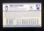 1972 Kelloggs #13 COR Jim Palmer  Back Thumbnail