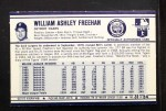 1972 Kelloggs #31  Bill Freehan  Back Thumbnail