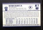 1972 Kelloggs #41  Nate Colbert  Back Thumbnail