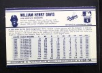 1972 Kelloggs #3  Willie Davis  Back Thumbnail