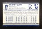 1972 Kelloggs #25  Tony Oliva  Back Thumbnail