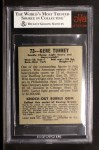 1948 Leaf #73  Gene Tunney  Back Thumbnail