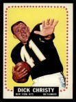 1964 Topps #111  Dick Christy  Front Thumbnail