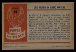 1954 Bowman Power for Peace #80   USS Perch in Artic Waters Back Thumbnail