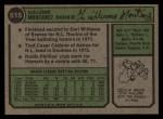 1974 Topps #515  Willie Montanez  Back Thumbnail