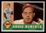 1960 Topps #264  Robin Roberts  Front Thumbnail