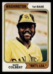 1974 Topps #125 WAS Nate Colbert  Front Thumbnail