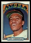 1972 Topps #561  Leo 'Chico' Cardenas  Front Thumbnail